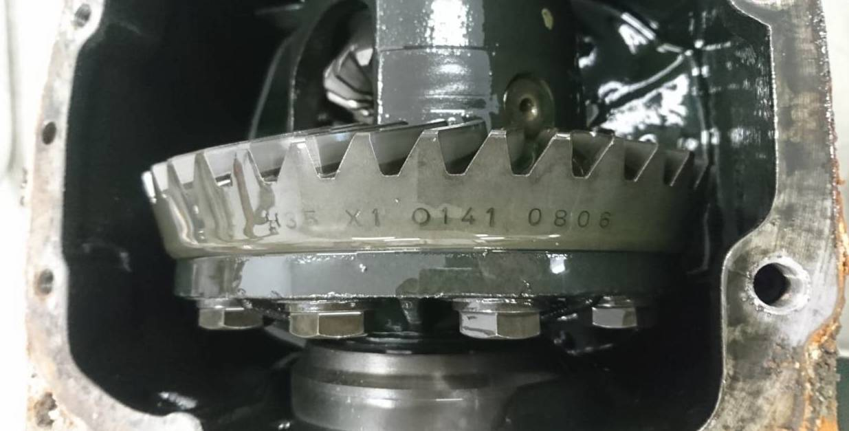 BMW Differentials Gear Set Easy Identification