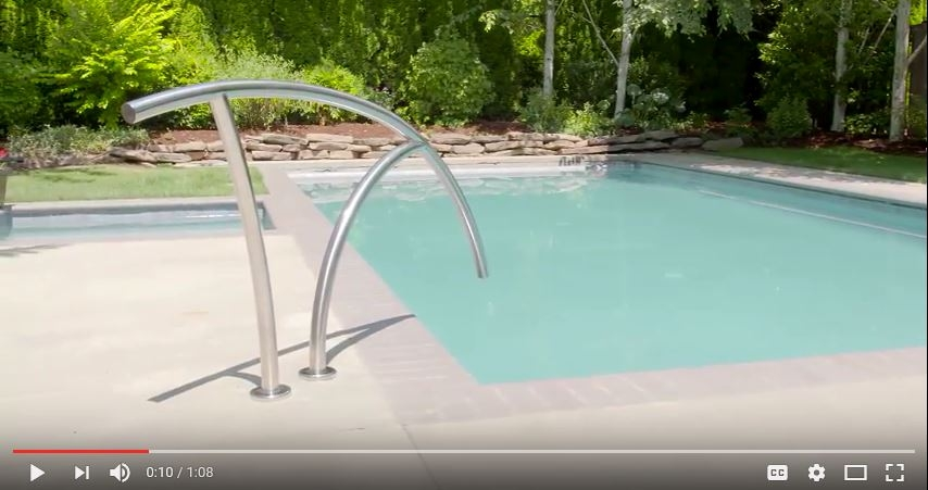 Swimming Pool Rails And Ladders Official S R Smith Products   Sr Smith Handrail Brochure   Ada   Stair Rails   Deck Mounted   Mer 1004   Art 1004