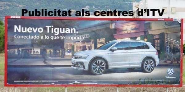 Publicitat als centres d'inspecció Técnica de Vehicles