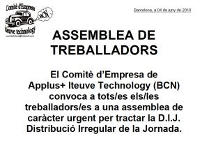 ASSEMBLEA DE TREBALLADORS