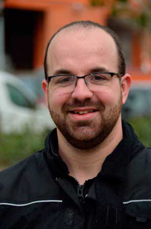 Dani Rodriguez Delegat i Comunicació del Sindicat Reformista de Treballadors