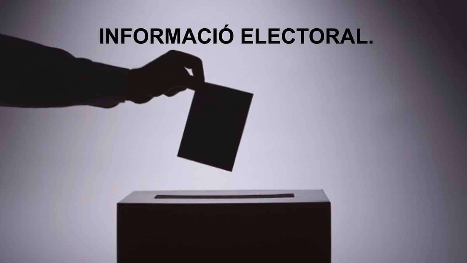 Informació electoral