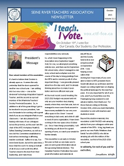 SRTA Newsletter October 2015