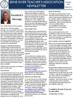 SRTA Newsletter October 2013