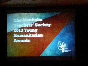 Young Humanitarian Awards 2013