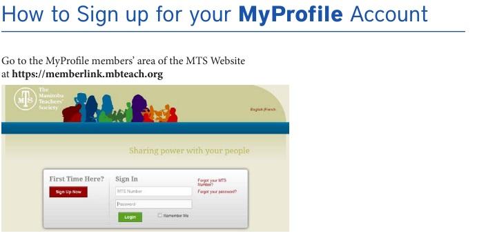 Your Memberlink Profile – Seine River Teachers' Association