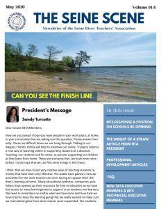 thumbnail of SRTA Newsletter May 2020