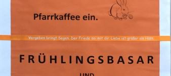 Pfarrkaffee und Frühlingsbasar Hl. Geist