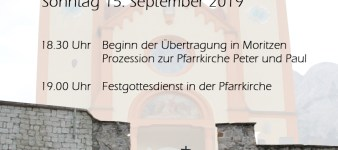 Übertragung der Moritzner Muttergottes (15.9. 2019)