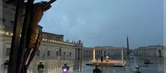 Wortlaut: Papstpredigt beim Gebet in der Pandemie