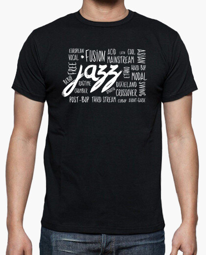 Jazz Genres T-shirt