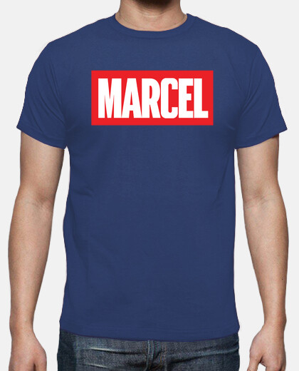 Marcel t-shirt available at the vandalogy store