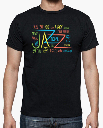 Music-Funny Jazz Graphic Concept t-shirt
