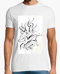 Tee-shirt Water Tribal T-shirt homme