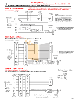 PDF manual for Aiphone Other LEF10S Inters