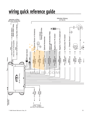 Avital 3100 Wiring Diagram  Wiring Diagram