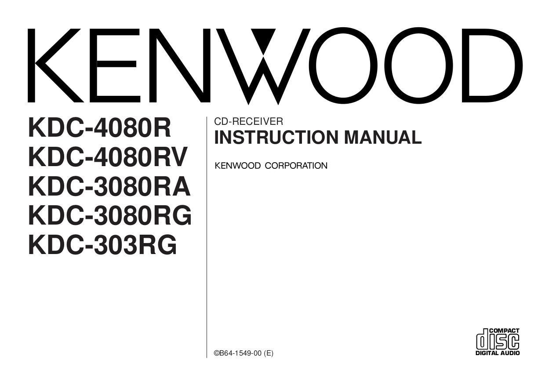 Download Free For Kenwood Kdc 205 Car Receiver Manual