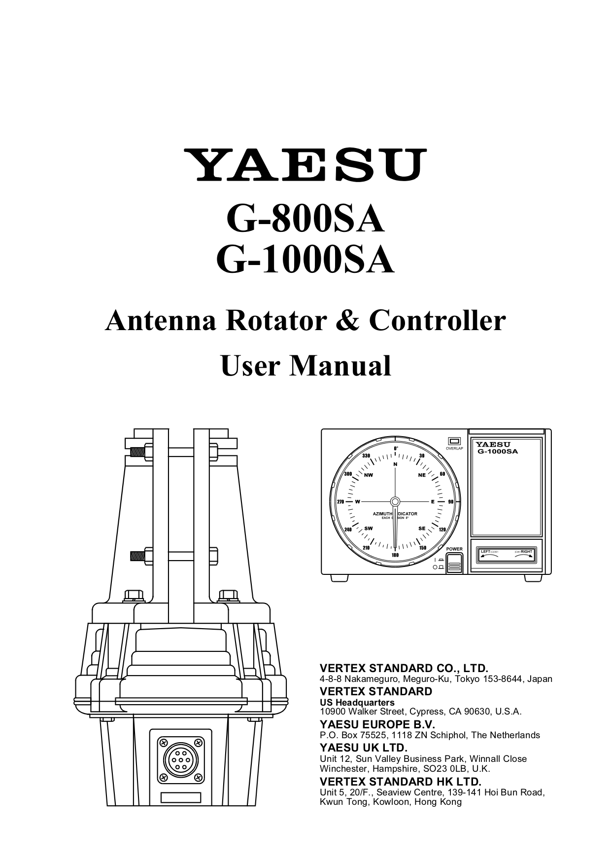 Download Free For Yaesu G 450a Rotator Other Manual