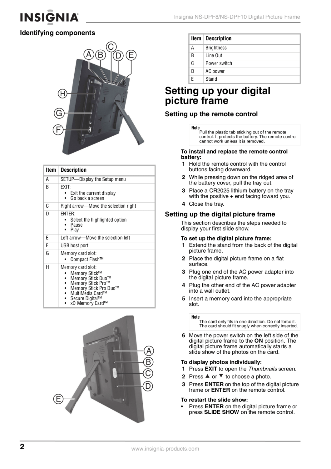 insignia picture frame troubleshooting | Siteframes.co
