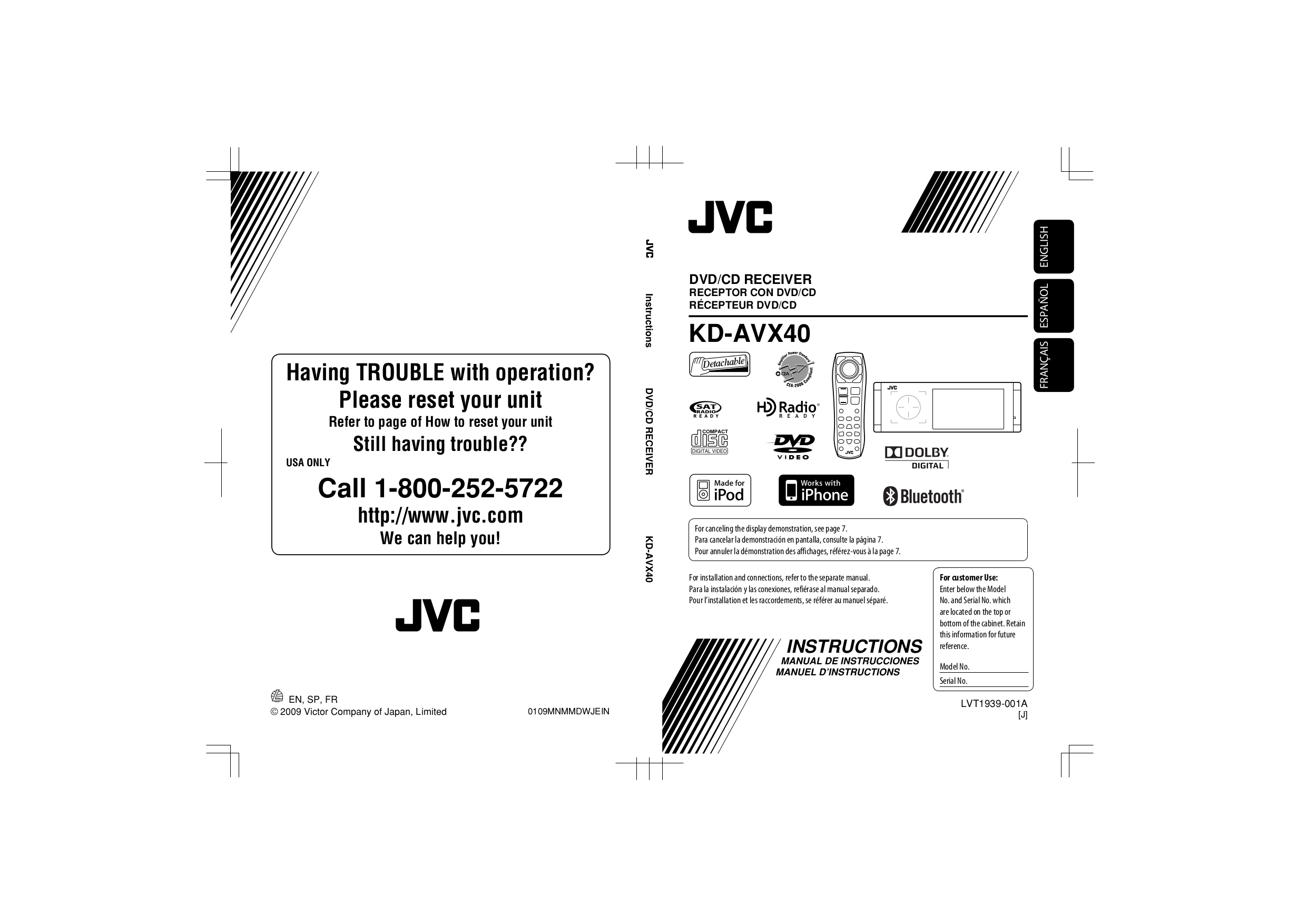 Download Free For Jvc Kd Avx40 Car Video Manual