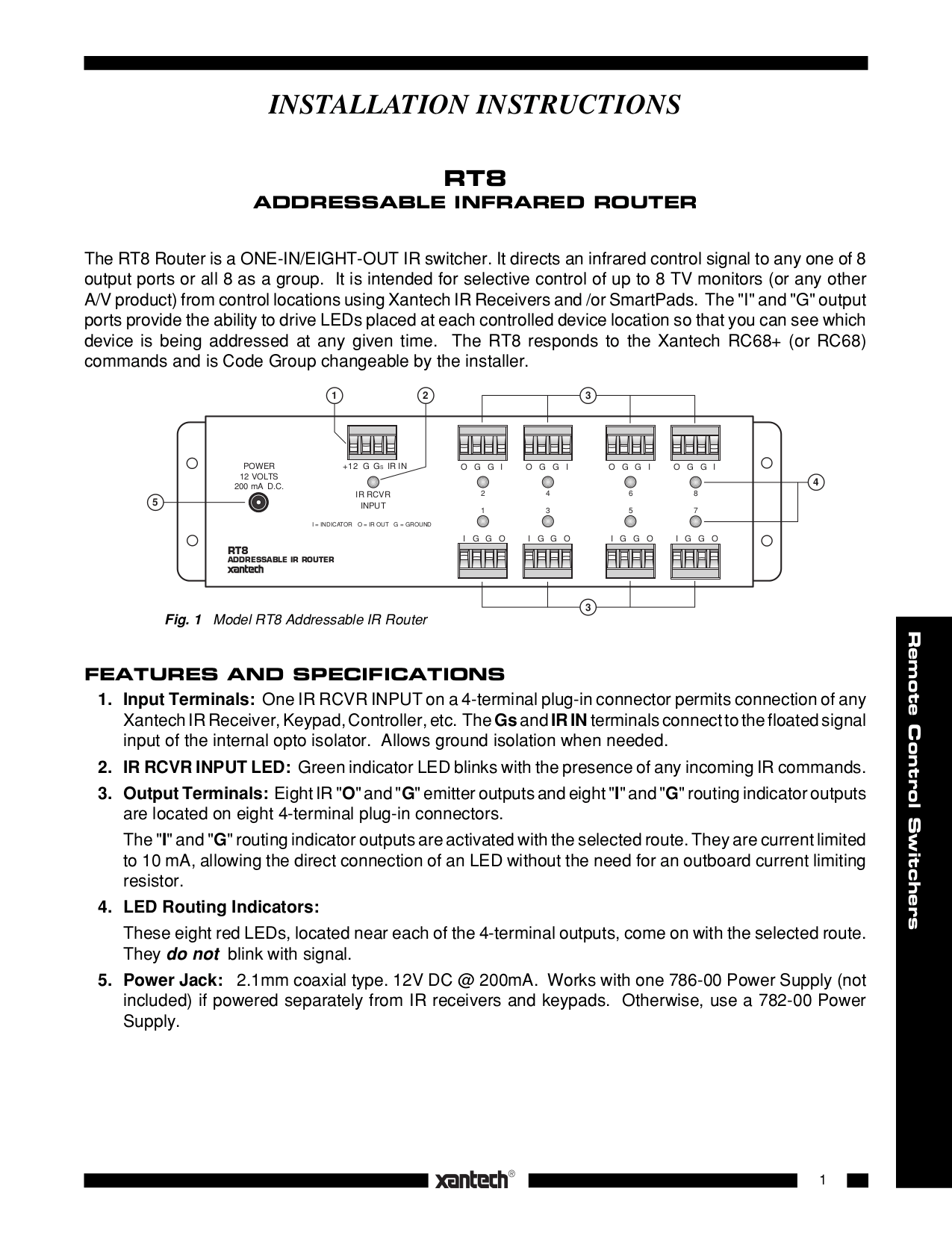 8127.pdf 0?resize\=665%2C861 xantech ir receiver wiring diagram wiring diagrams speakercraft ir receiver wiring diagram at gsmportal.co