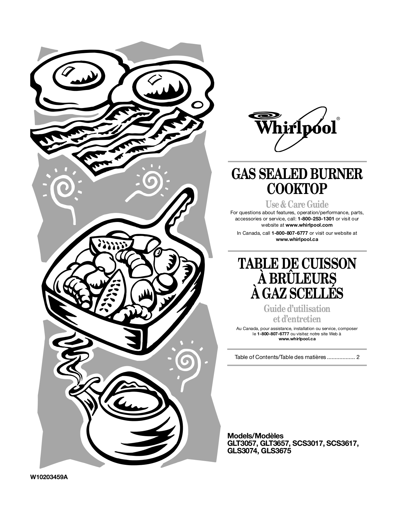 Owners Manual For Whirlpool Stove