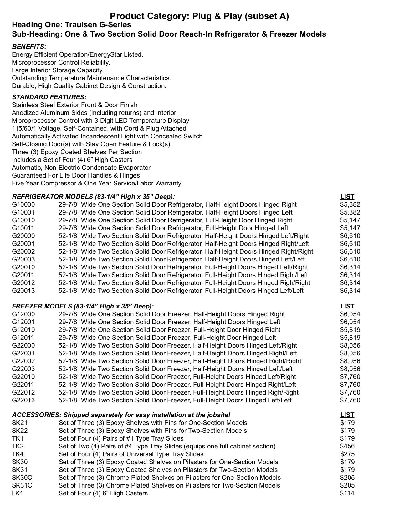 Traulsen G31010 Wiring Diagram Model | Wiring Library
