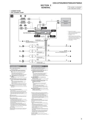 PDF manual for Sony Car Receiver Xplod CDXGT55UIW
