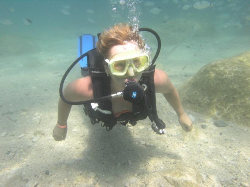 Diving in Kemer, Дайвинг в Кемере