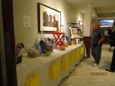The silent auction prizes