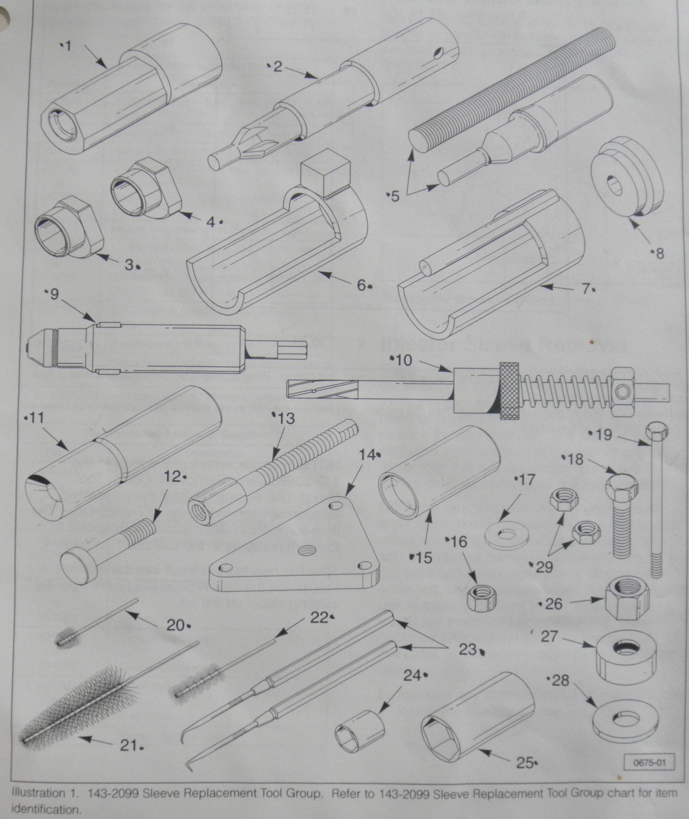 Genuine Cat Injector Cylinder Sleeve Tool Kit