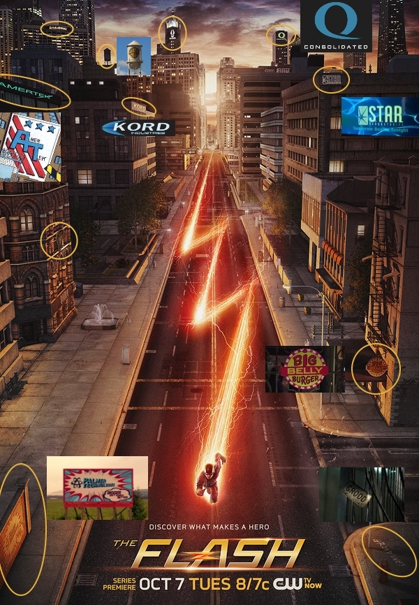 Flash-TV-Poster-Easter-Eggs