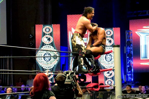A match between Hirooki Goto and Jay Lethal for the ROH World Championship