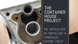 The Difficulties on Installing a Concealed Cistern Toilet