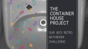 Our 90's Retro Bathroom Challenge