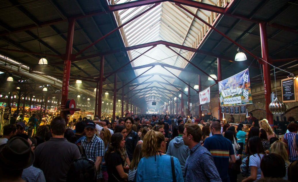 Queens Victoria Market night