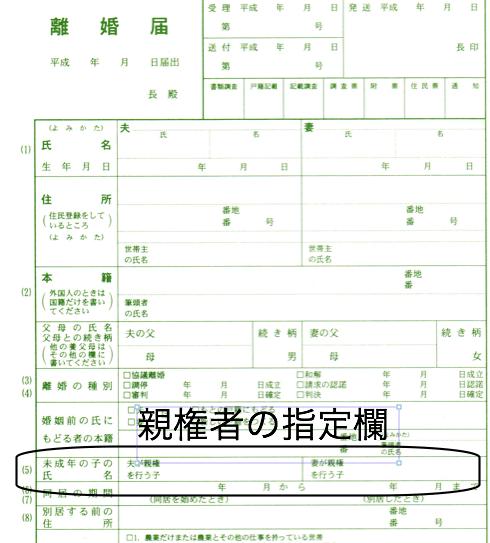 離婚 親権 川崎