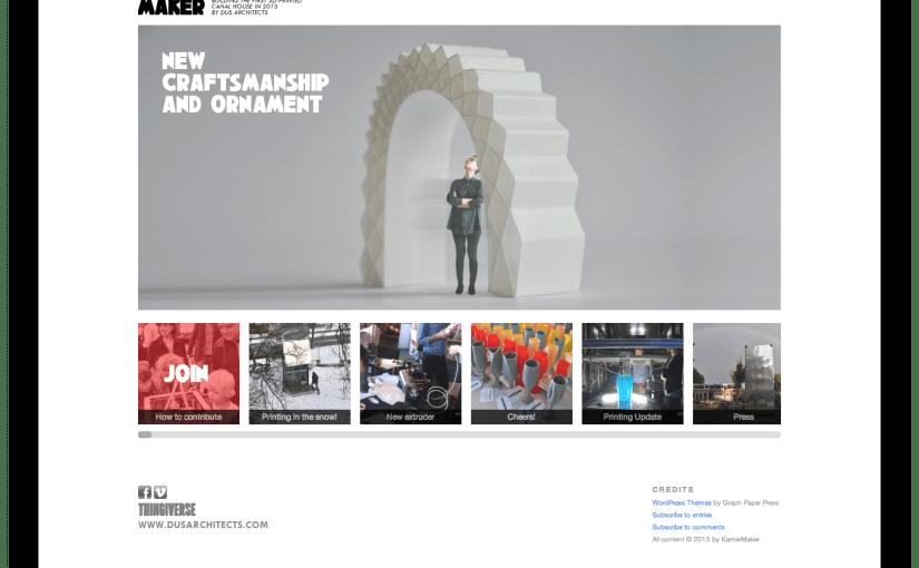 3D 프린터로 진짜 집 짓기