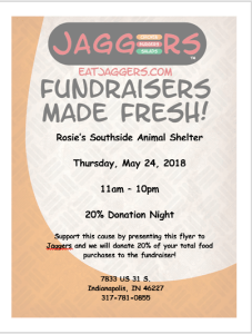 Dine-to-Donate May 24, 2018