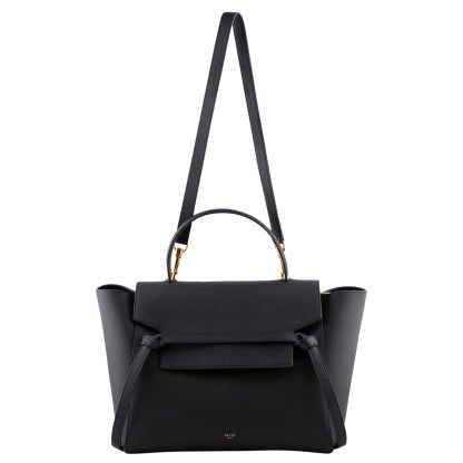celine belt bag black