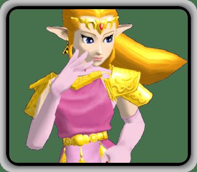 Melee Zelda Textures