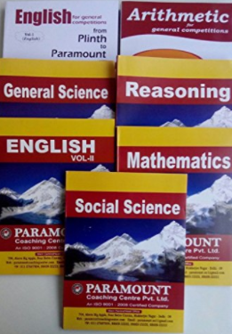 Paramount Books for SSC CGL CHSL