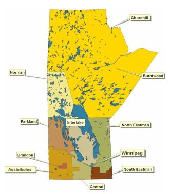 Manitoba Map