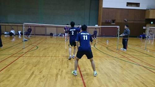 会長杯リーグSSDSメンバー試合風景