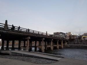 三条大橋が見える風景