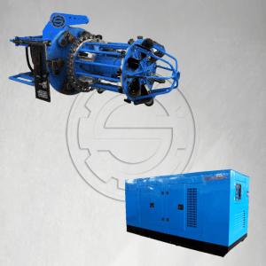 pipe facing machine and power pack machine