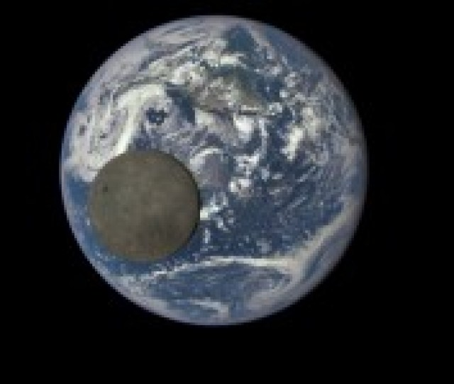Video From A Million Miles Away Nasa Camera Shows Moon Crossing Face Of Earth