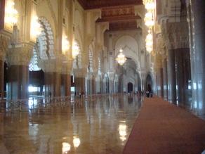 Hassan II interior