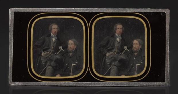 Ambrotype stereo From the Howarth-Loomes Collection at National Museums Scotland Image © National Museums Scotland