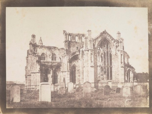 Melrose Abbey by John Muir Wood